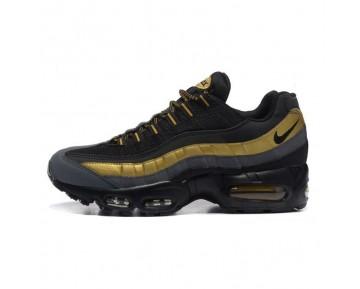 Nike Air Max 95 Premium Schuhe 538416-007 Herren Schwarz/Metallic Gold