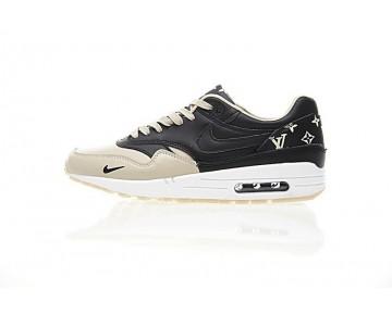 Herren 908375-001 L.Vx Nike Air Max 1 Custom Schuhe Braun/Gold