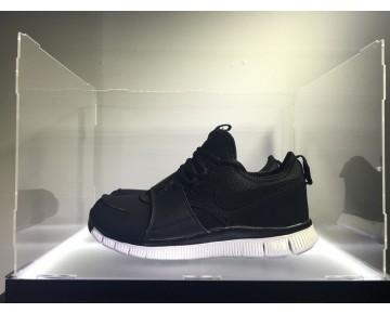 Schuhe Schwarz/Schwarz-Schwarz-Weiß Herren Nike Free Ace Leather 749627-004