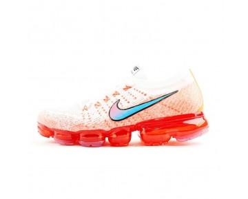 Herren Weiß/Orange/Rot Schuhe Nike Air Vapormax 845473-002