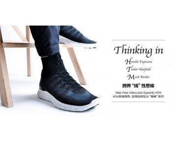 667978-001 Schwarz Nike Free Mercurial Superfly Sp Htm5.0 Herren Schuhe
