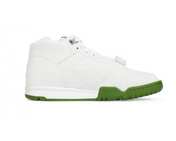 806942-113 Herren Schuhe Fragment Design X Nikecourt Air Trainer 1 Mid Premium Sp Weiß Chlorophyll