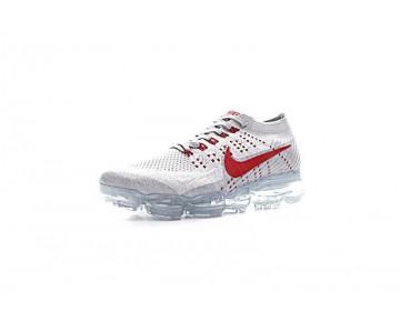 Schuhe Ice Grau/Rot 899473-006 Nike Air Vapormax Flyknit Unisex