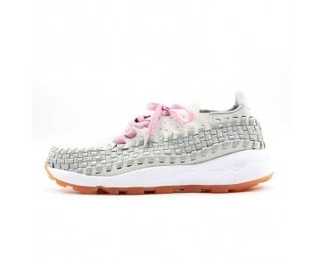 Nike Air Footscape Herren Licht Grau/Rosa Schuhe 315795-001