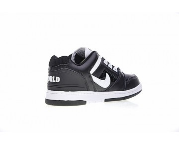 Schwarz Weiß Aa0871-010 Supreme X Nike Sb Air Force 2 Low Sb Herren Schuhe