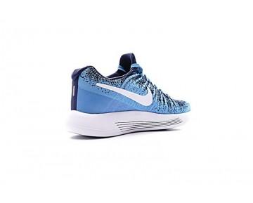 Unisex Sky Blau/Schwarz 863779-009 Schuhe  Nike Lunarepic Low Flyknit 2
