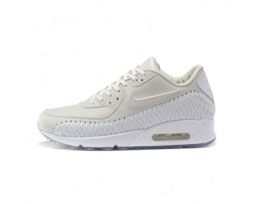 833129-005 Herren Schuhe Nike Air Max 90 Woven Weiß Phantom