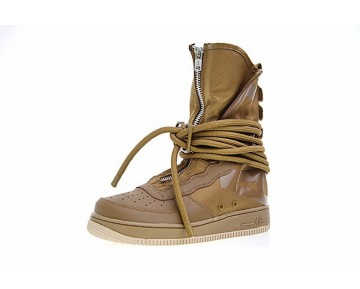 Aa1128-204 Unisex Nike Sf Air Force 1 High Tief Braun Schuhe