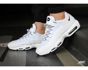 Weiß/Schwarz Schuhe Nike Air Max 95 Unisex 609048-109