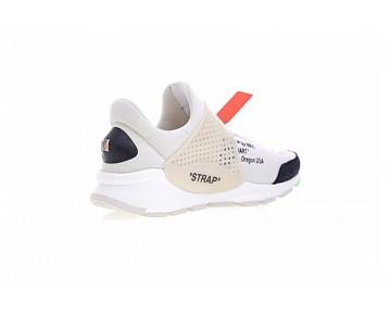Aa8696-101 Unisex Schuhe Virgil Ablohoff-White X Nike La Nike Sock Dart Weiß/Schwarz