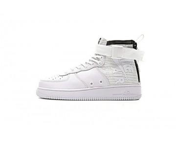 Weiß Schuhe Unisex 857872-005 Nike Sf Air Force 1 Mid Qs