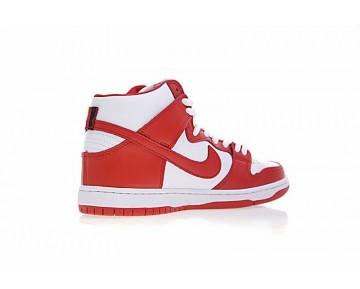 Nike Sb Dunk High Prodream Team Unisex 854851-661 Schuhe Weiß/Rot/Tief Blau