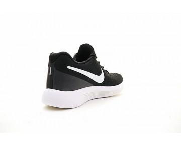 863779-190 Unisex  Nike Lunarepic Low Flyknit 2 Schwarz/Weiß Schuhe