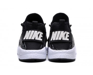 Nike Wmns Air Huarache Ultra Knit Jacquard Schuhe Unisex 818061--001 Schwarz/Weiß