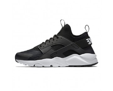 Schuhe 819685-001 Nike Air Huarache Run Ultra Breathe Schwarz/Weiß Unisex