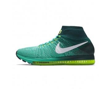 844134-313 Nike Air Zoom All Out Flyknit Mint Grün Herren Schuhe