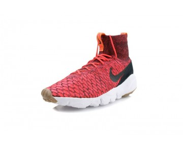 816560-600 Nike Air Footscape Magista Flyknit Bright Crimson Herren Schuhe
