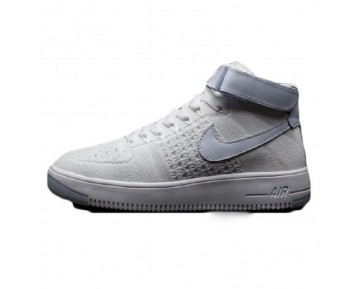 Unisex Nike Air Force 1 Flyknit Schuhe Weiß