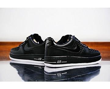Sumer Schwarz Weiß 718152-010 Herren Nike Air Force 1 Lv8 'Woven Schuhe