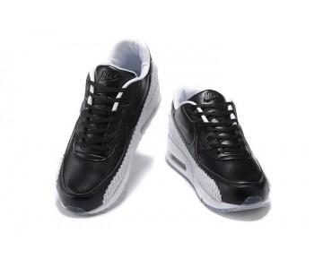 833129-003 Unisex Schuhe Schwarz Weiß Nike Air Max 90 Woven