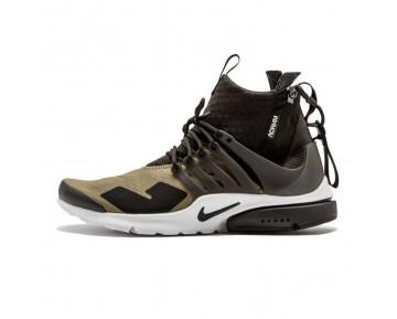 Herren Medium Olive/Dust-Schwarz Schuhe 844672-200 [emailprotected] X Nike Air Presto Mid