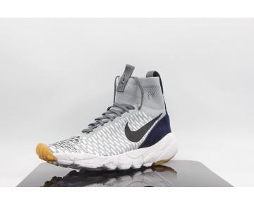 Schuhe Nike Air Footscape Magista Flyknit Gradient Herren 816560-001 Wolf Grau/Obsidian
