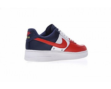 Schuhe Independence Day Rot Blau/Weiß 823511-601 Unisex Nike Air Force 1 Low Mini Swoosh