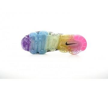 849558-005 Nike Air Vapormax Flyknit Schuhe Ash Grau/Schwarz/Rainbow Herren