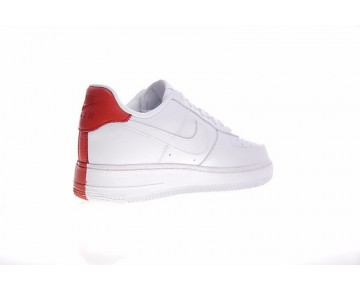 905345-005 Rot/Weiß Schuhe Unisex Nike Air Force 1 Low Split
