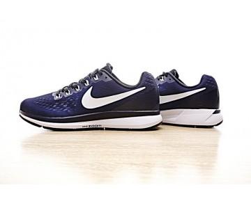 Schuhe Herren 887017-401 Tief Blau/Weiß Nike Air Zoom Pegasus