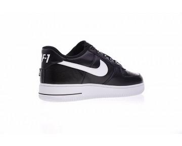 Schuhe Weiß Schwarz Unisex 823511-405 Nba X Nike Air Force 1 Af1