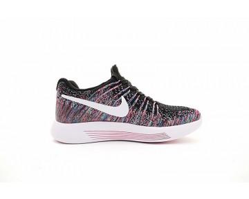 Damen Schuhe Rosa/Schwarz/Rainbow 843765-401  Nike Lunarepic Low Flyknit 2
