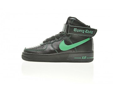 Schuhe Unisex Aa536-002 Vlone X Nike Air Force 1 High Collection Ne Schwarz Grün