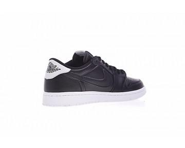Unisex Air Jordan 1 Low Og Premium Schwarz/Weiß 705329-010 Schuhe