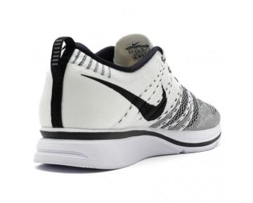 532984-100 Herren Weiß/Schwarz Nike Flyknit Trainer Schuhe