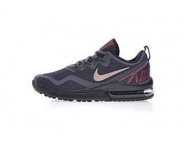 Schwarz/Grau/Wein Rot Nike Air Max Fury Damen Schuhe Aa5740-005