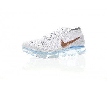 Ice Blau/Gold Nike Air Vapormax Flyknit Explorer Light 849557-104 Schuhe Unisex