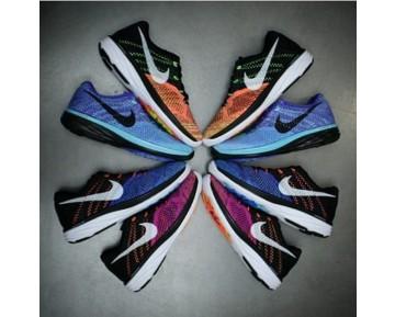 Nike Nike Flyknit Lunar3 Schuhe Damen 698182-006 Schwarz/Lila