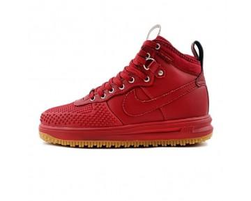 Schuhe 805899-600 Nike Lunar Force 1 Duckboot Wein Rot Herren