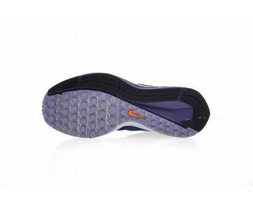 Schuhe 921704-400 Nike Zoom Winflo 4 Herren Tief Blau/Grau/Orange