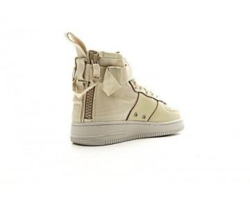 Nike Sf Air Force 1 Mid Qs Schuhe 857872-001 Rice Gelb Unisex