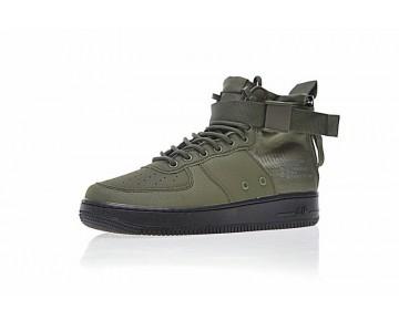 Schuhe Unisex Army Grün/Schwarz Nike Sf Air Force 1 Utility Mid
