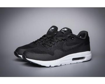 Nike Air Max 1 Ultra Flyknit 843384-001 Schuhe Herren Schwarz Weiß