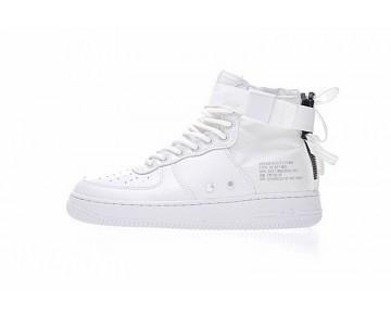 Schuhe Weiß Unisex Nike Sf Air Force 1 Utility Mid
