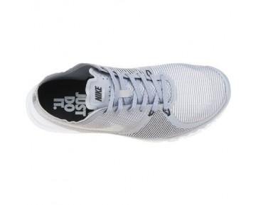 Herren Wolf Grau/Weiß/Schwarz Nike Free Trainer 3.0 V4 Schuhe 749361-010