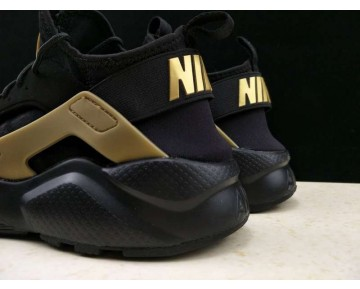 Herren Schwarz/Gold Schuhe Nike Air Huarache Ultra Id 829669-331