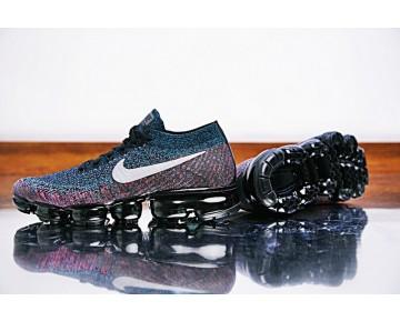 Nike Air Vapormax Flyknit Schuhe Herren 849558-403 Dunkel/Lila/Rainbow
