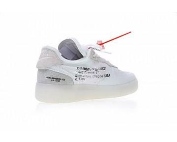 A04606-100 Schuhe Grau Weiß Off White X Nike Air Force 1 Low Herren