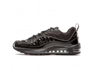 Supreme X Nikelab Air Max 98 Unisex Schuhe 844694-001 Schwarz