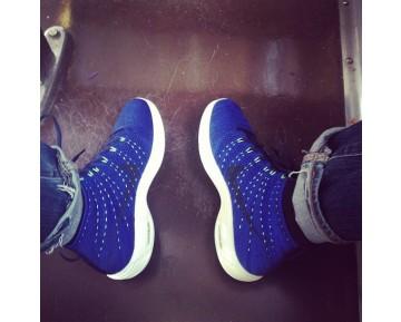 Schuhe Nike Lunar Flyknit Chukka Herren 554969-444 Tief Blau